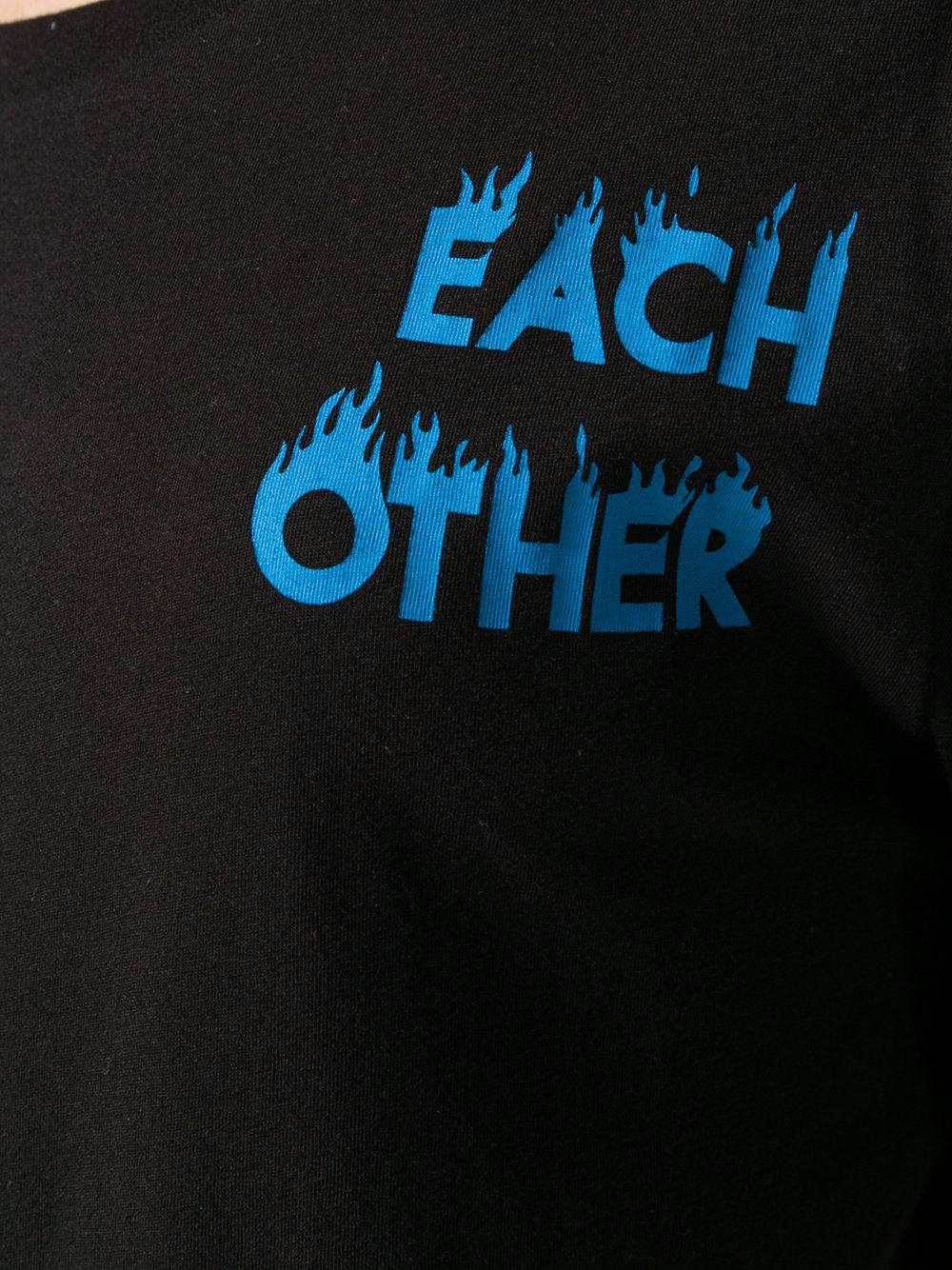 Each X Other graphic logo Tshirt T shirt logo design