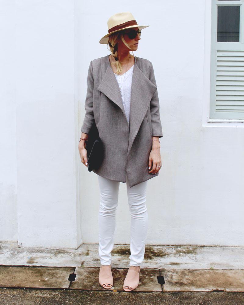Photo of Brenna Coat . PRINTED . Wholesale