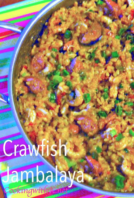 Spicy! Crawfish Jambalaya {A Cajun dish that is sure to please your family and guest!} #cajundishes