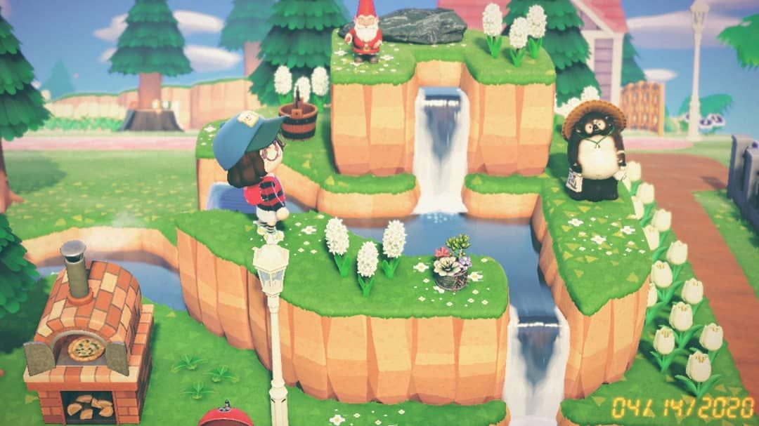 Serena Cirillo On Instagram Gnome Mountain In All Its Glory Animalcrossing Acnh Newhorizons In 2020 Animal Crossing New Animal Crossing Animal Crossing Game