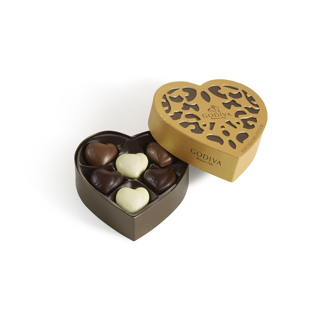 Godiva Heart Gift Box (small) | Wedding Favors & Gifts ...