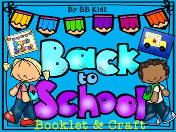 This is a back to school booklet about school.  Inside the booklet are pages about (me, name, school, friends, lunch, teacher, way home).This is a fun first week of school booklet to introduce the kids to school.Also included are tracers to make a bus.