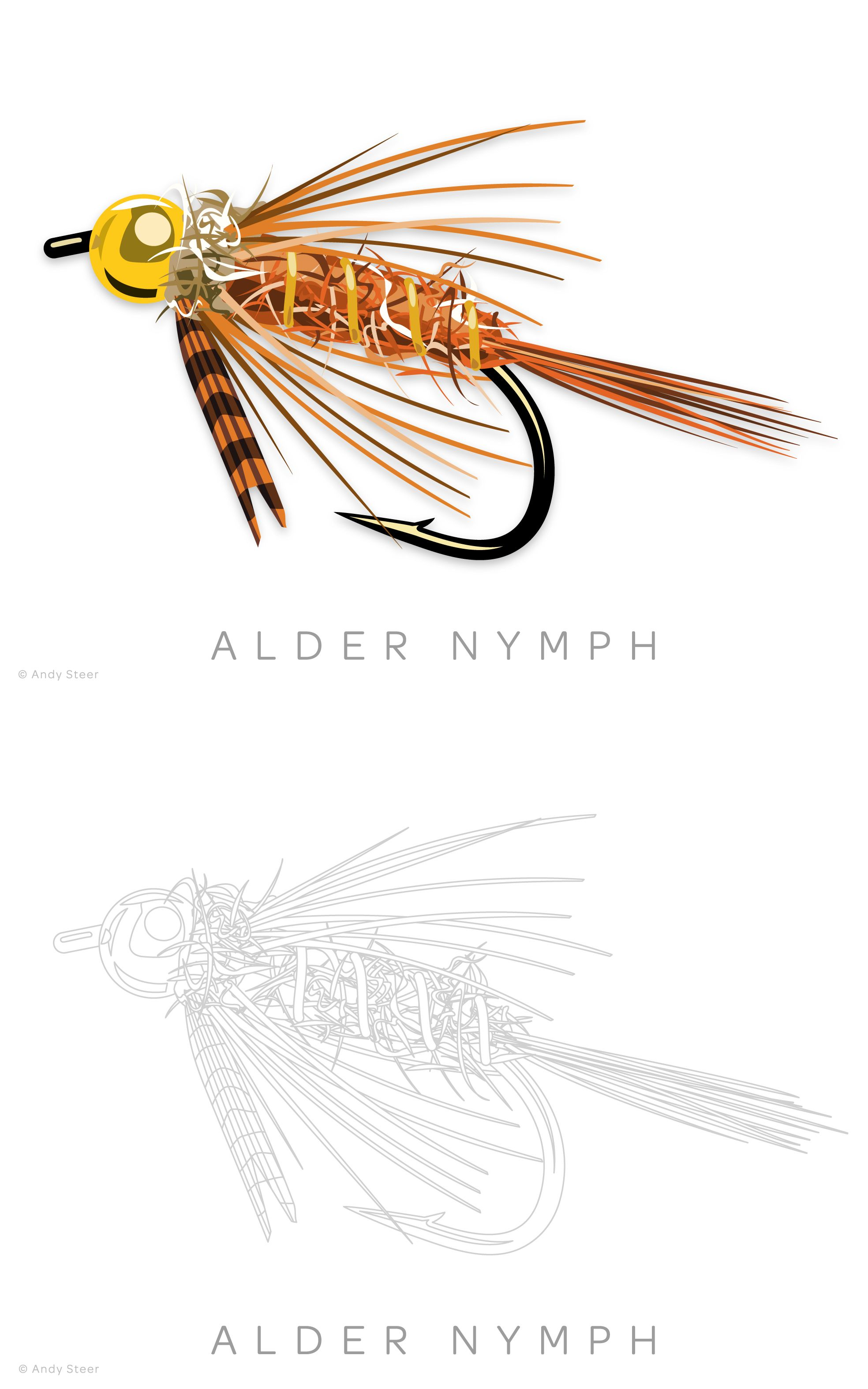 Fly Fishing Flies Coloring Book Coloring Books Fly Fishing Color