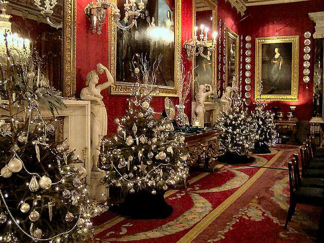 Chatsworth House,Christmas 2007 - Chatsworth House,Christmas 2007 Soirée Christmas, Christmas In