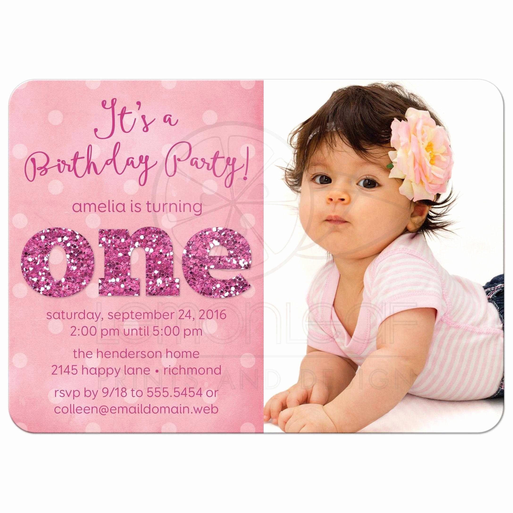 √ 30 Girls 1st Birthday Invites in 2020 | Birthday invitation card  template, 1st birthday party invitations, 1st birthday invitation wording