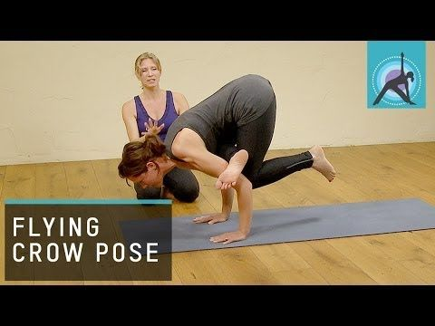 how to do flying crow pose in yoga  best yoga videos free yoga videos namaste yoga