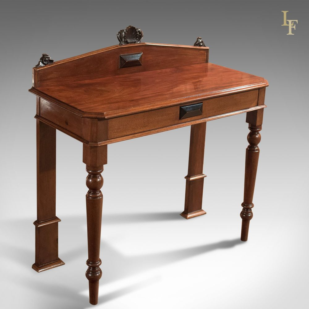 Antique Console Table Victorian Scottish Hall Mahogany Side