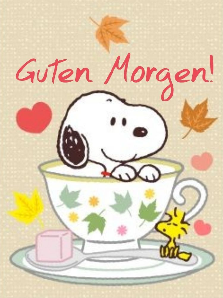 Pin By Mariama Jackson On Sprüche Good Morning Snoopy