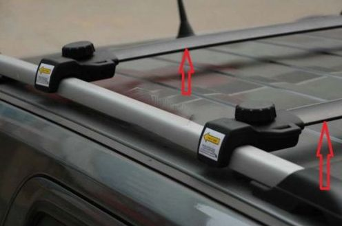 Black Cross Bars Roof Rails Rack For 2007 2012 2013 Jeep Patriot Jeep Patriot Roof Rails Interior Accessories