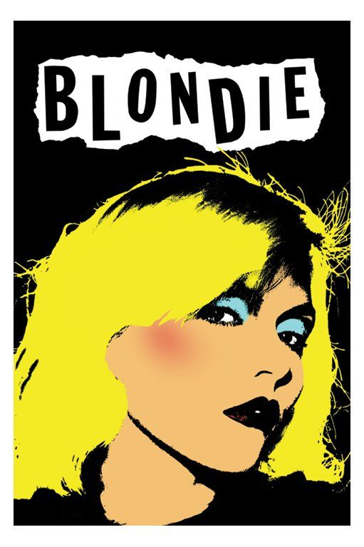 Love The Pop Art To Go With Great Music Artists Punk Poster Pop Posters Music Artists