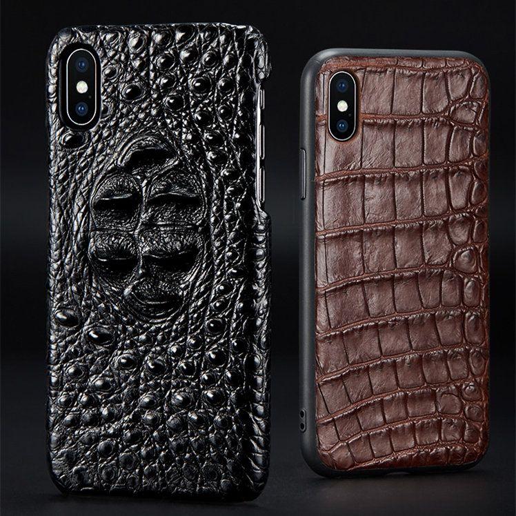 huge discount 2b1d8 9563a Crocodile Skin iPhone Xs Max Case, Alligator Skin iPhone Xs Max Case ...