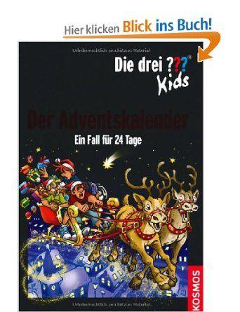 Die Drei Kids Der Adventskalender Drei Fragezeichen Ein Fall Fur 24 Tage Amazon De Ulf Blanck Jan Sasse B Adventkalender Adventskalender Fragezeichen