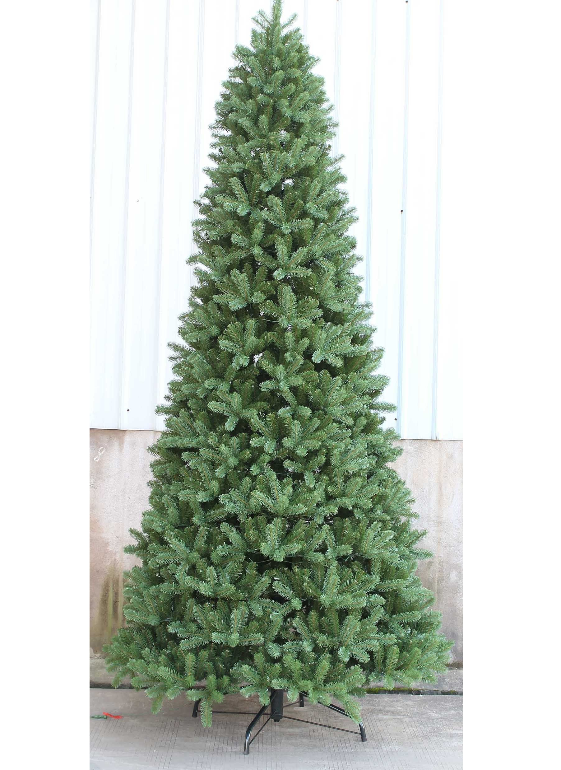 C30 12 Ft Pre Lit Walker Spruce Christmas Tree With 1350 Clear Lights Fir Christmas Tree Artificial Christmas Tree Slim Artificial Christmas Trees