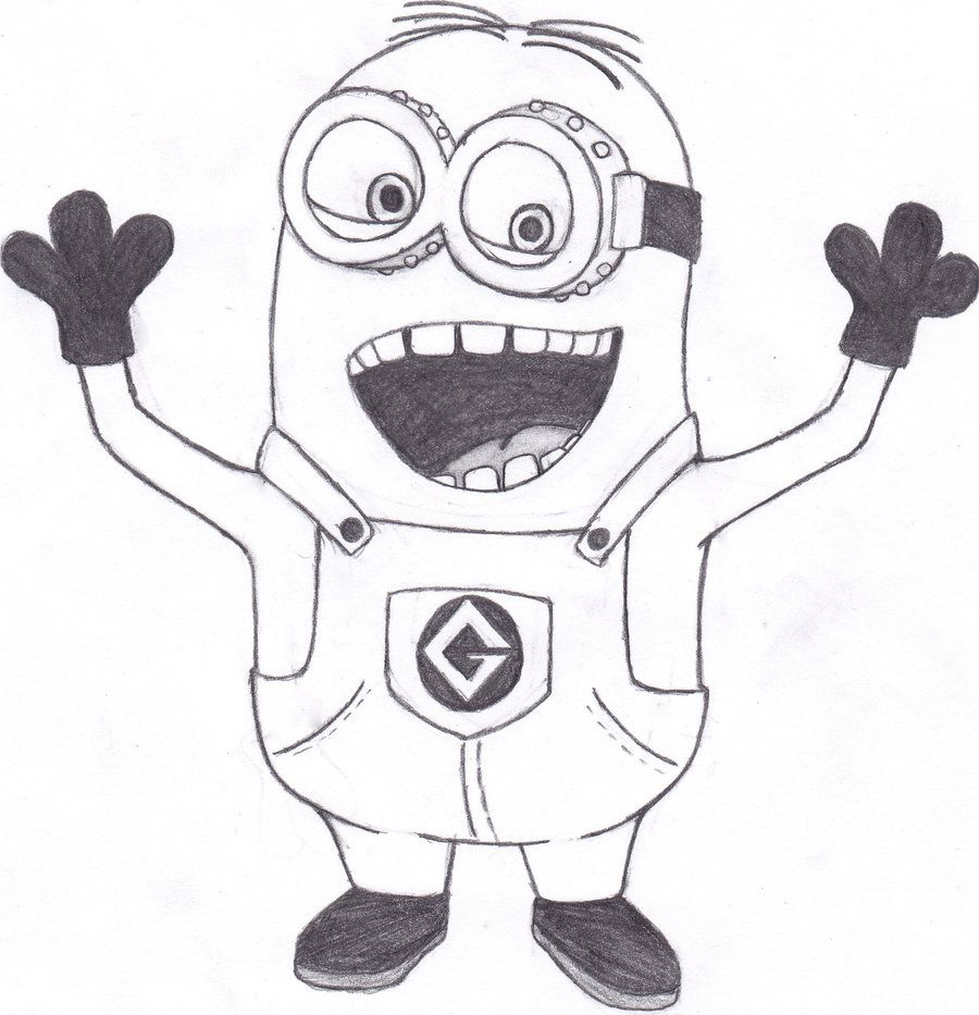 Free Despicable Me Printable Coloring Pages