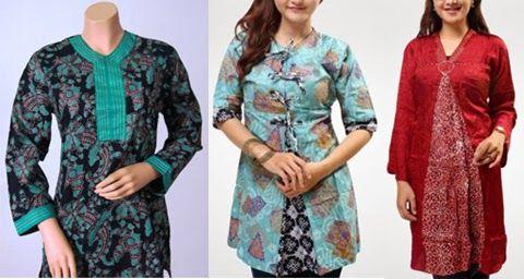 gambar model baju kerja guru wanita gemuk  2bb6c57604