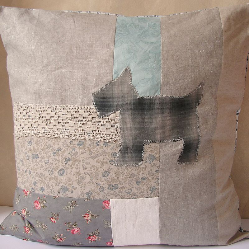 Cushion scotty dog 65x65 | Flickr - Photo Sharing!