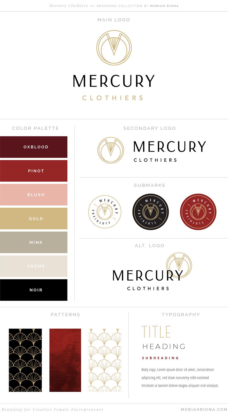 Fashion Designer Logo Branding Website Design For Vintage Inspired Fashion Line Fashion Logo Branding Branding Website Design Website Branding