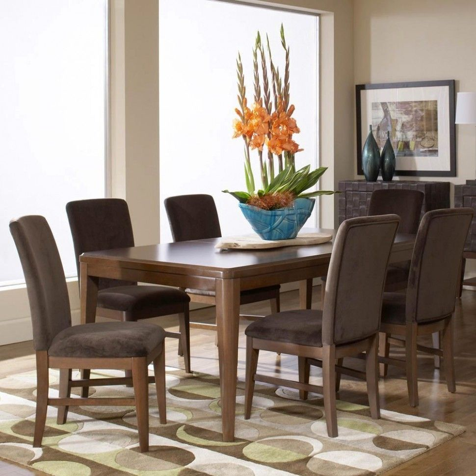 Charming 7 piece dining set outdoor