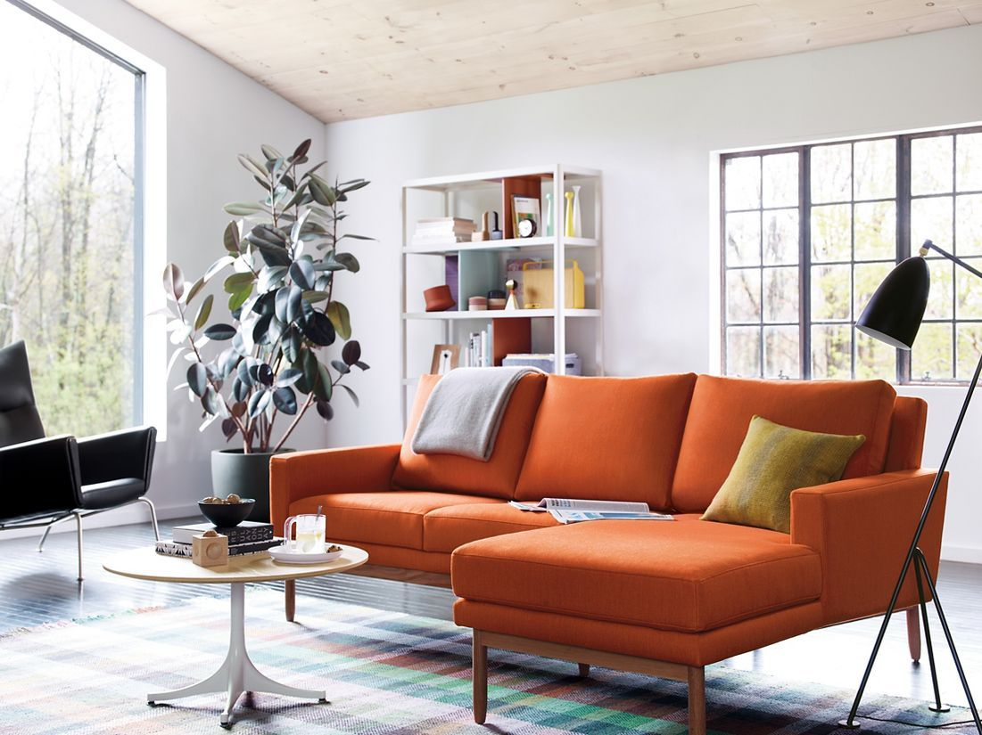 Raleigh sectional with chaise