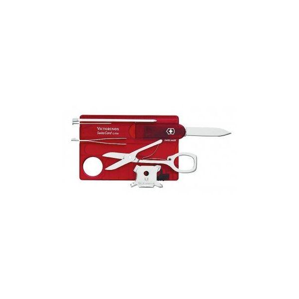 2c8bf61e247 Victorinox SwissCard Lite Pocket Tool (Jelly Red) - Victorinox from  SwissArmy365 UK. Victorinox Swiss Card Lite LED ...