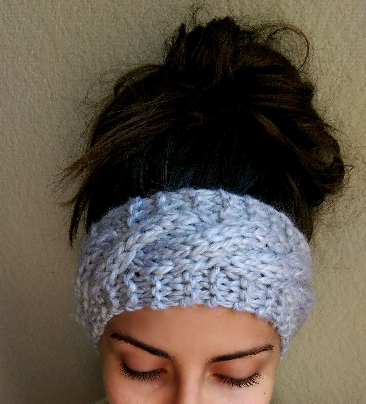 Cable Knit Headband | Knitting | Pinterest | Knitted headband, Cable ...
