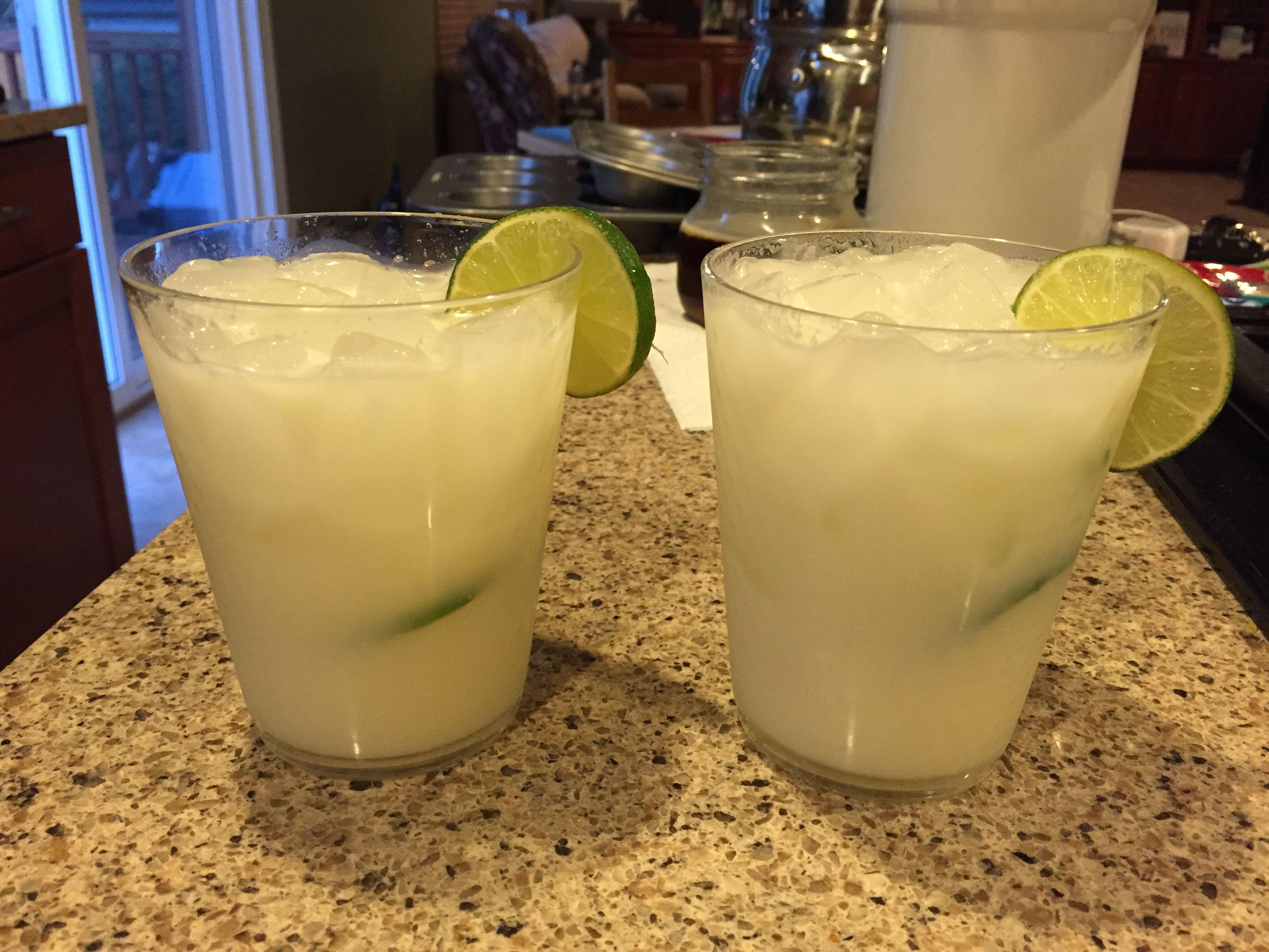Brazilian lemonade! Wonderful....