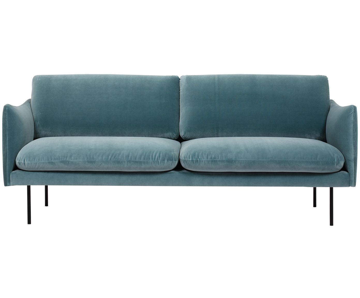 Samt Sofa Moby 2 Sitzer Meubels Pinterest Sofa Interior