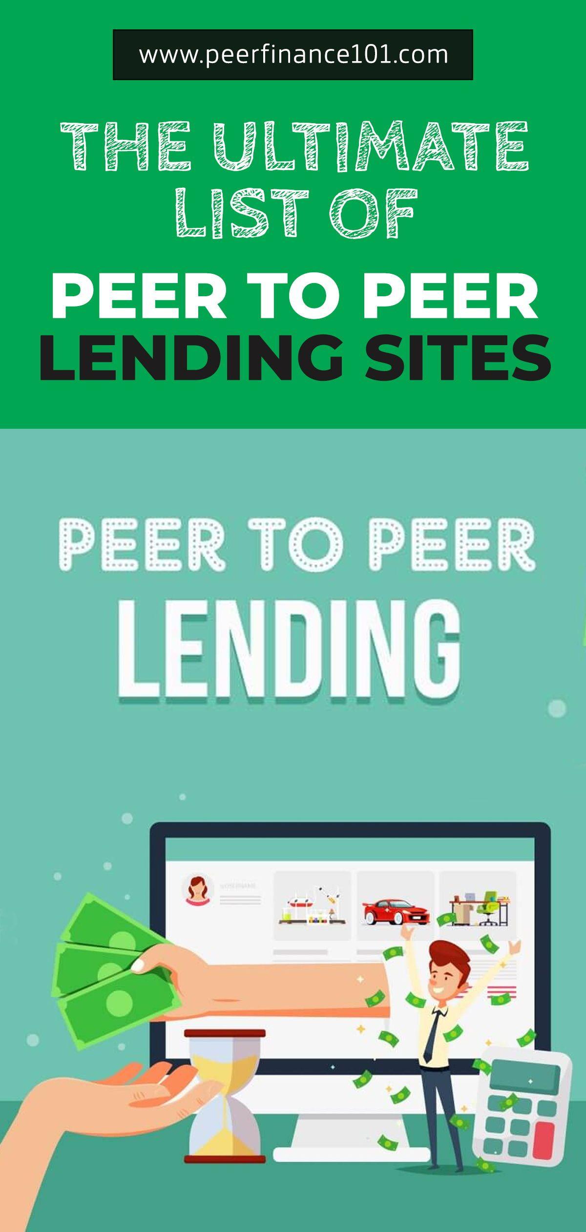 The Ultimate List Of Peer To Peer Lending Sites For 2020 In 2020