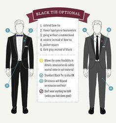 White Tie Vs Black Tie Google Search Wedding Guest Men Black Tie Optional Black Tie Optional Dress