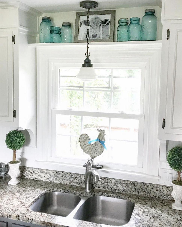 50 Vintage Kitchen Tools And Decor Ideas To Inspire You Fafifu Farmhouse Kitchen Decor Kitchen Window Coverings Kitchen Sink Design