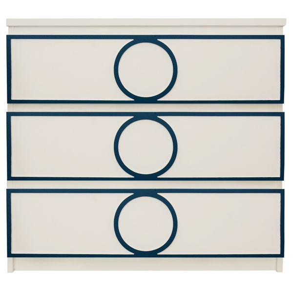Show details for Gracie Full O'verlay Kit for IKEA MALM (3 drawer)