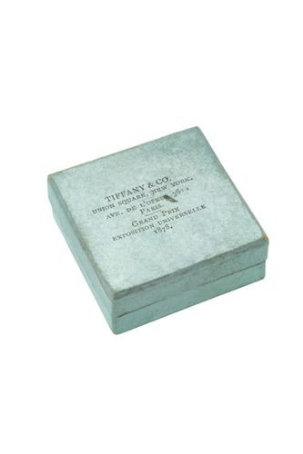 Tiffany and Co: Maybe not as blue as it is today, but something tells us the ladies back in 1837 got just as excited as we do now at the thought of receiving one of these iconic, little boxes.