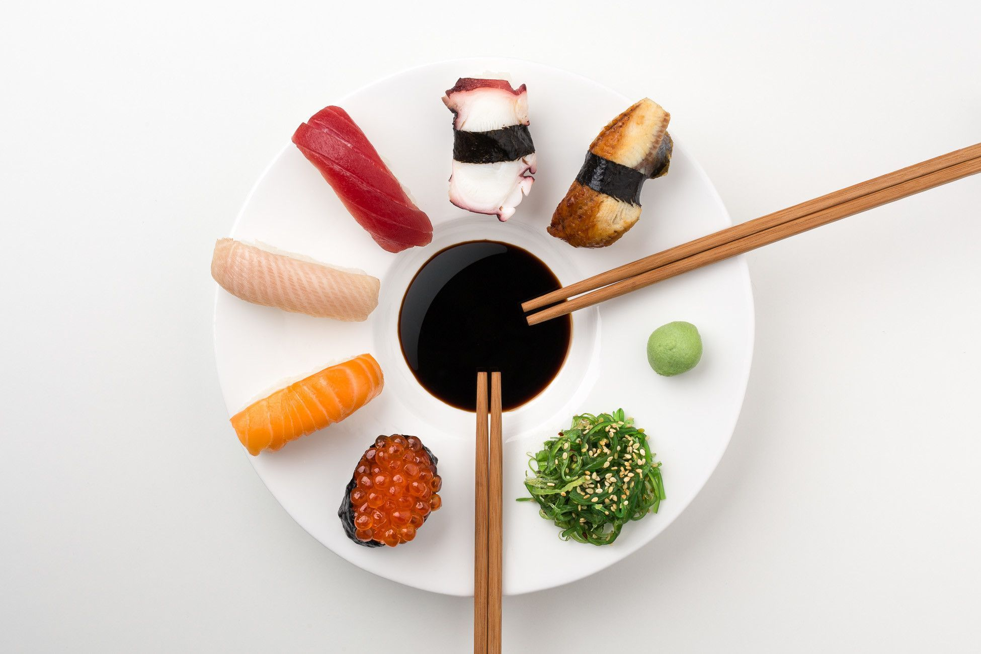 The Sushi Plate 6 Piece Dinnerware Set