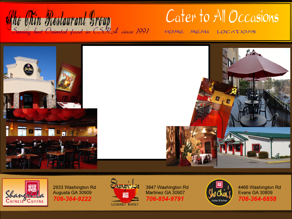 Sho Chin Restaurant Group Best Chinese Food In Augusta Ga Since 1991 Weddings Corporate And Private Catering Best Chinese Food Chinese Cuisine Food