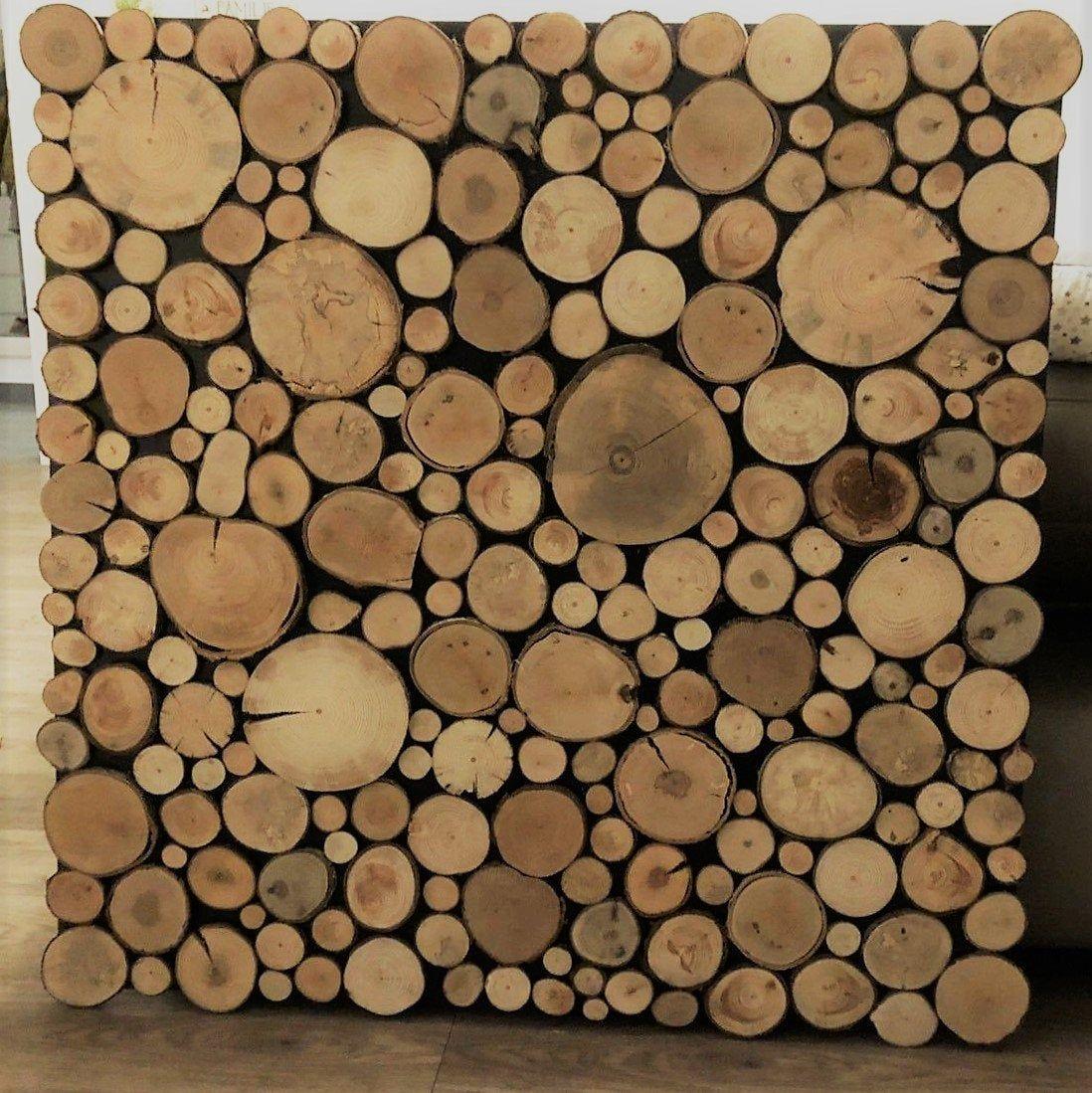 100 wooden discs, Astscheiben, Deco wood #holzscheibendeko