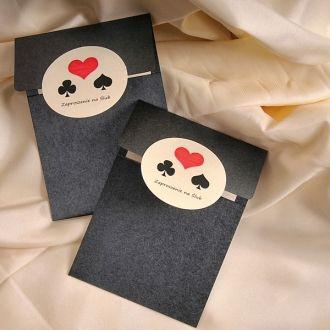 Zaproszenia Karty Do Gry Zaproszenia ślubne Pin Up Decorisus