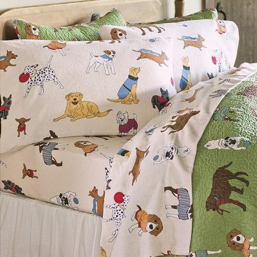 Found It At Wayfair Doggone Flannel Sheet Set Sheet