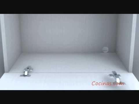 Cocinascom - Video de montaje de mueble de cocina alto .wmv | Cocina ...
