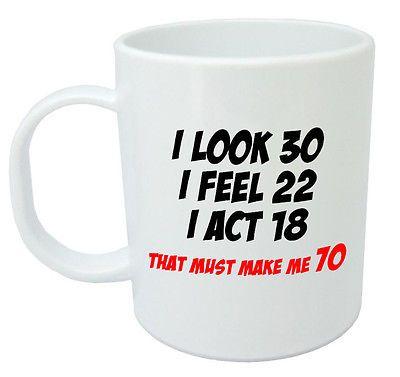 Makes Me 70 Mug