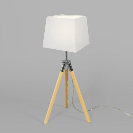 Mix 'n Match Tischleuchte Treppiede Schirm 18cm quadratisch #Lampe #Innenbeleuchtung #Stehlampe #Leselampe #Nachttischlampe