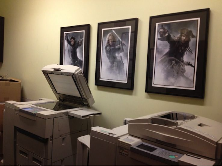 entire office decked. Even The Copy Room At Jerry Bruckheimer Films Office Is All Decked Out Entire
