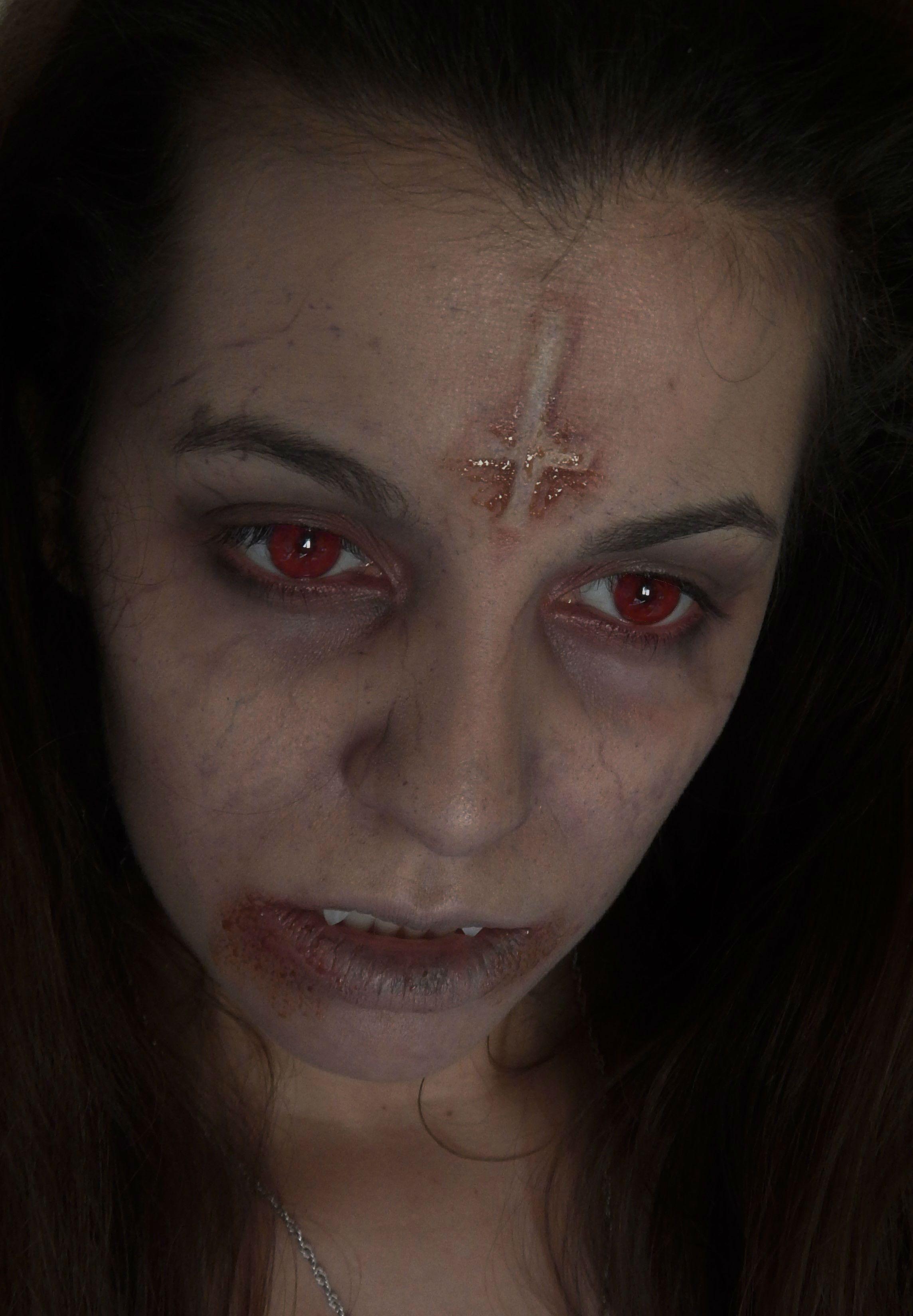 maquillaje vampiresa Maquillaje halloween 2018
