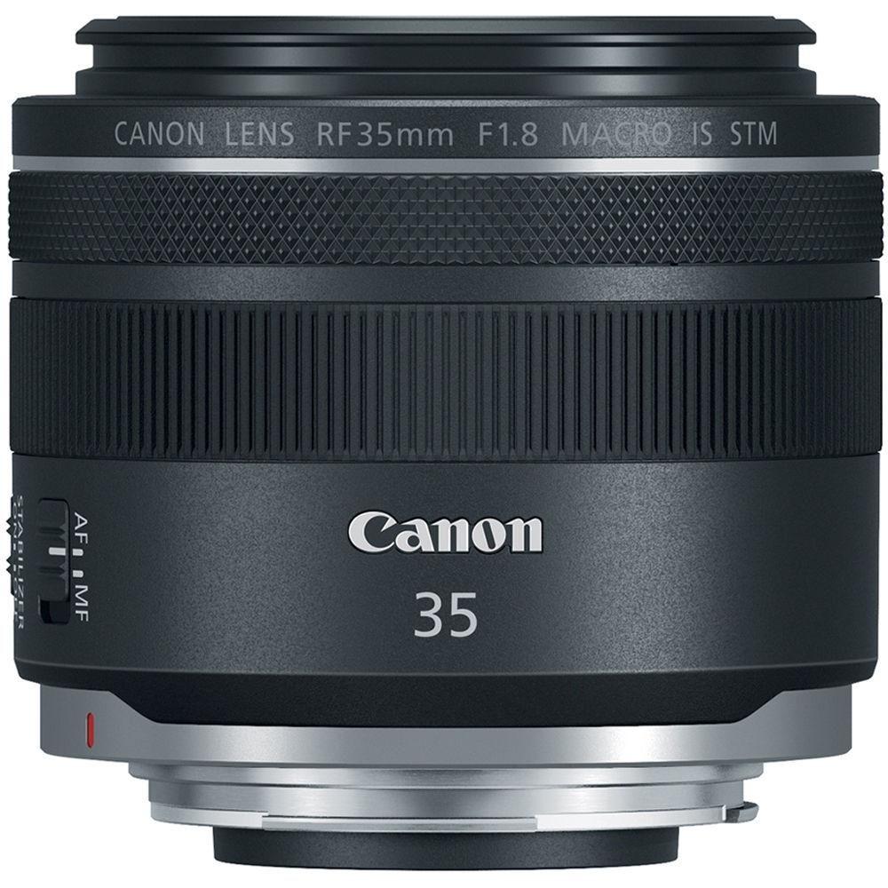 Lens Canon Rf 35mm F 1 8 Is Macro Stm Black In 2021 Canon Lens Dslr Lenses Mirrorless Camera