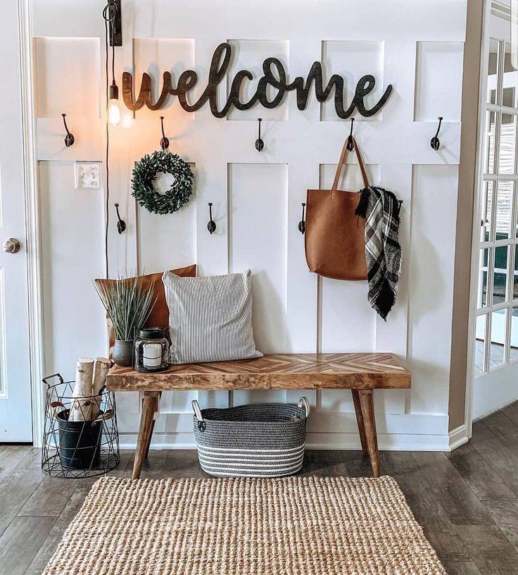 """Photo of Farmhouse Stylebook auf Instagram: """"Ich verehre diesen Eingang … das Willkommensschild … – Blog für Wohnaccessoires"""