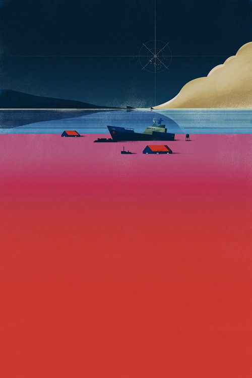 weandthecolor:Illustration by Dan Matutina Check out this feature on WE AND THE COLOR of various illustrations created byDan Matutina in early 2014. You can find more of the illustrations byDan Matutina, here