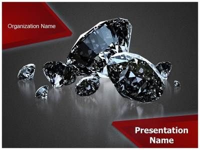 Shiny Diamonds Powerpoint Template Is One Of The Best