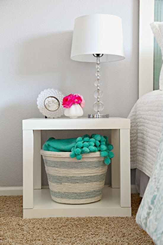 ikea korb aus seil selber machen do it yourself diy. Black Bedroom Furniture Sets. Home Design Ideas