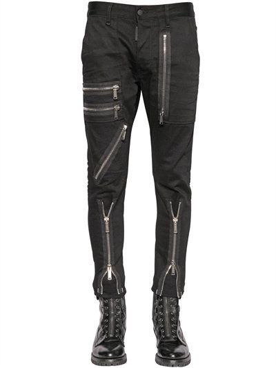 Stretch Denim COOL GIRL CROPPED Jeans 16 cm Fall/winter Dsquared2 wLHg4E5