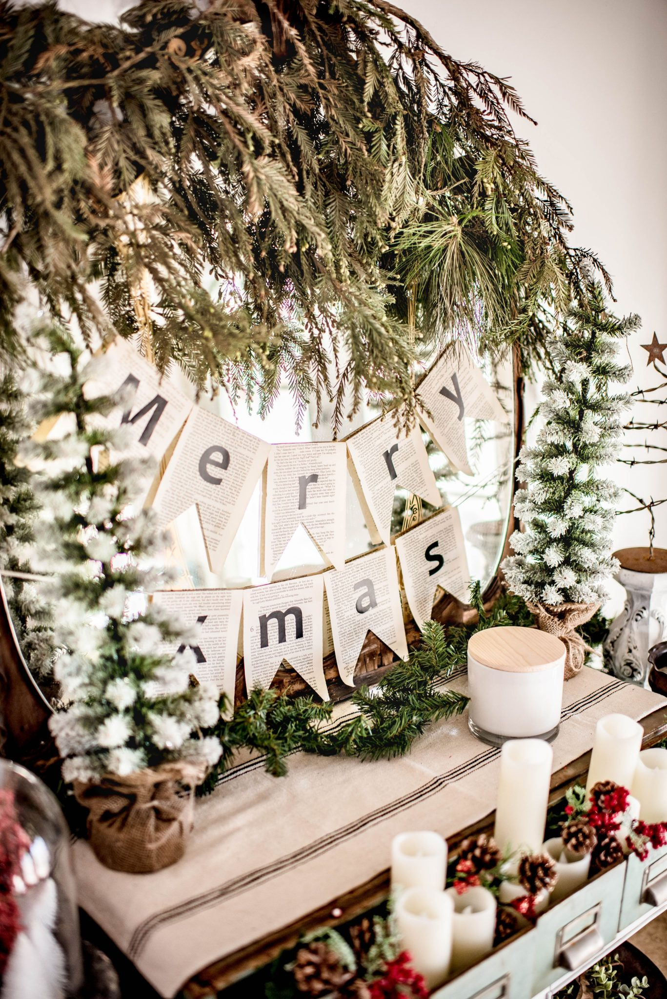 Corey Here From Hudson Farmhouse My Buffalo Check Christmas Tree Was So Fun To Dollar Tree Christmas Decor Christmas Decorations Rustic Modern Christmas Decor