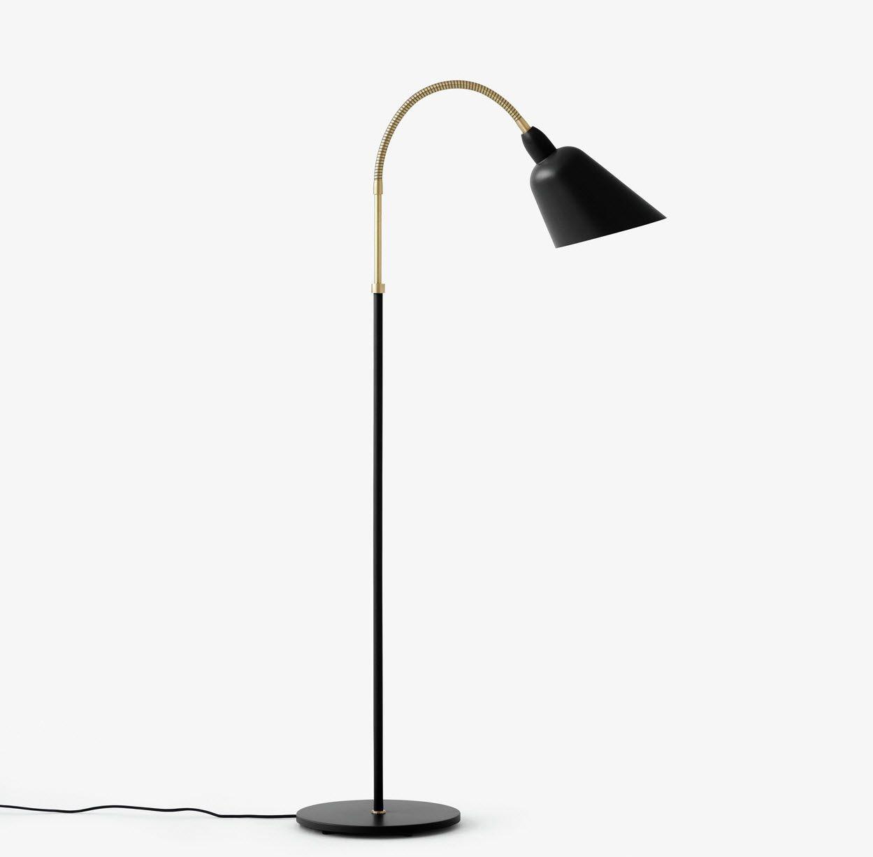Bellevue Gulv lampe - modell AJ7 - designet av Arne Jacobsen i 1929 ...